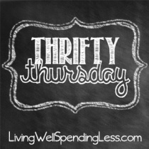 Thrifty-Thursday-Linky-Party-at-LivingWellSpendingLess.com_