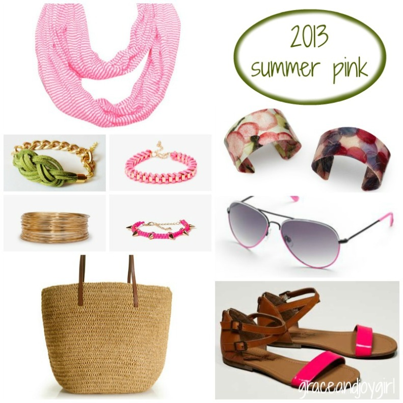 pink accessories @ grace and joy girl