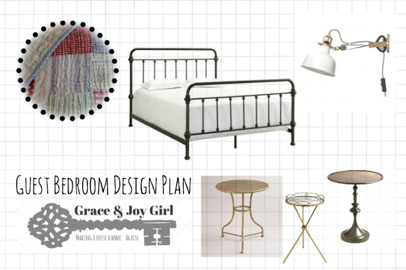 guest room design plan